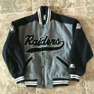 OG Vintage Oakland Raiders Wool Starter Jacket